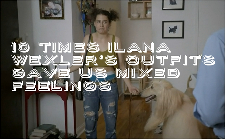 Broad City Style Guide In GIFs: 10 Times Ilana Wexler's Outfits Gave Us Mixed Feelings